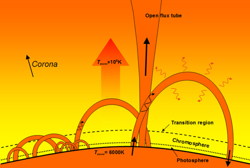 Coronal Loop Diagram